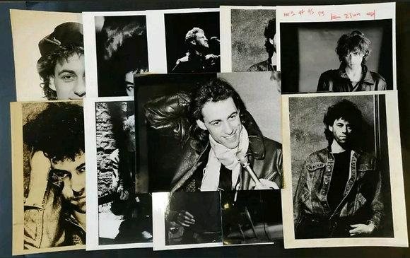 Bob Geldof Press Photo Selection (x11) - 2