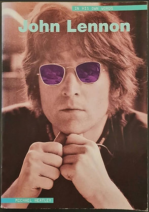 Hunter Davies Signed 'John Lennon: In His Own Words' Book by Michael Heatley
