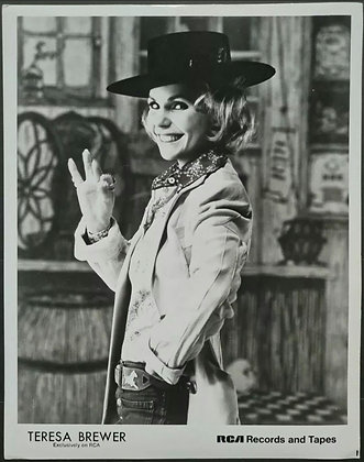 Teresa Brewer Promo Photo - RCA Records - 1975