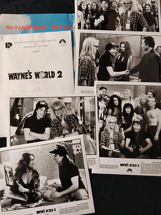Waynes World 2 Press Pack