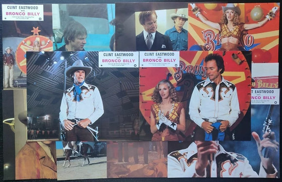 Bronco Billy (1980) French Lobby Cards (x12) - Clint Eastwood