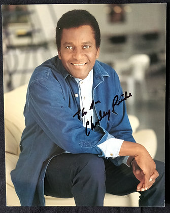 Charley Pride Signed Photo