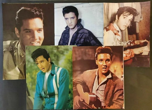 Elvis Presley Colour Photo/Print Selection (x5) - 2