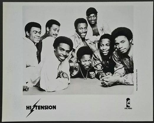 Hi Tension Promo Photo - Island Records - 1978
