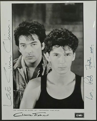 Climie Fisher Signed Promo Photo - EMI Records - 1987
