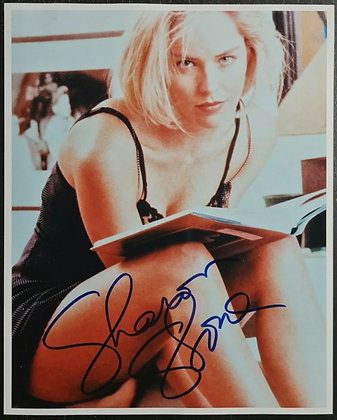 Sharon Stone Signed Photo - Basic Instinct, Casino