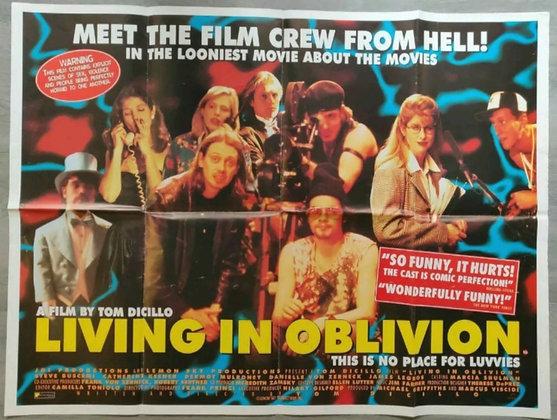 Living In Oblivion (1995) UK Quad Poster - Steve Buscemi, Catherine Keener