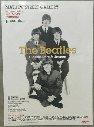The Beatles Classic Rare & Unseen Exhibition Poster - Mathew Street, 2004 - Mojo