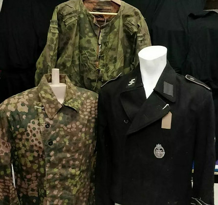 FURY (x3) SS German Jackets - Used In Production (2014 Film) from Prop Store.