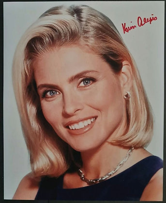 Kim Alexis Signed Photo - American Model/Actress - Daily Edition