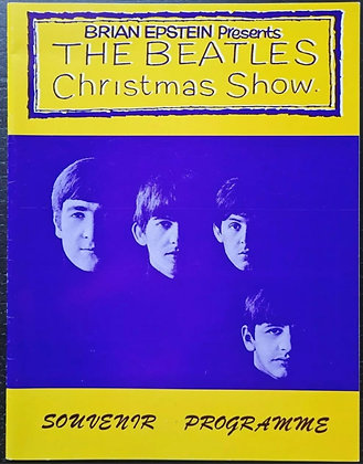 The Beatles 'Christmas Show 1963/64' Reprint Programme from 1993 - (A)