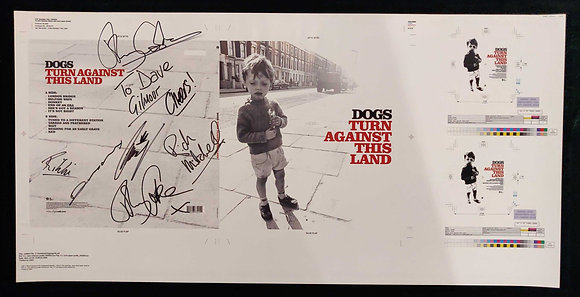 Dogs Signed Proof Sleeve - Turn Against This Land