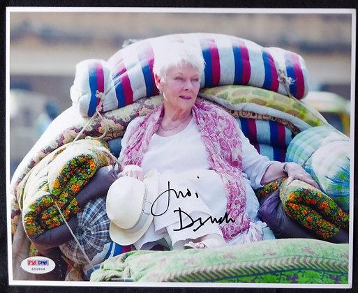 Judi Dench Signed Photo