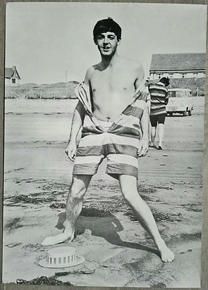 Paul McCartney Contemporary Poster Print - Weston-Super-Mare 1963 - Dezo Hoffman