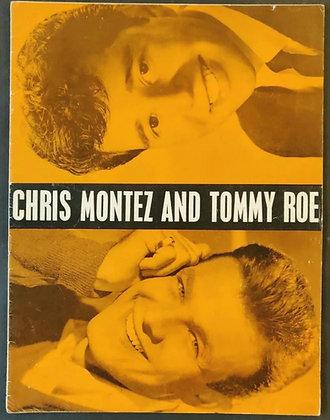 The Beatles 1963 UK Tour Programme - Chris Montez And Tommy Roe
