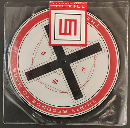 """Thirty Seconds To Mars 'The Kill' Numbered Picture Disc 7"""" Single (Still Sealed)"""