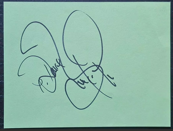 Barry McGuigan Autograph - Former WBA Featherweight Boxing Champion