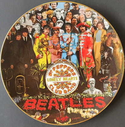 The Beatles Sgt. Pepper: The 25th Anniversary Limited Edition Plate