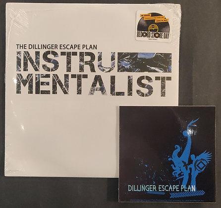 "The Dillinger Escape Plan 'Instrumentalist' 7"" EP Vinyl (Still Sealed) + Sticker"