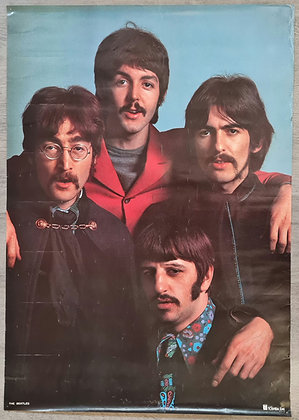The Beatles Japanese Promo Poster from 1967 - Toshiba/EMI