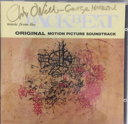 Chris O'Neill Signed Backbeat CD