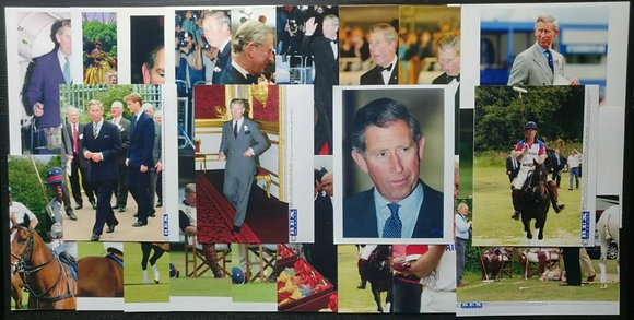 Prince Charles Press Photos (x23) - Prince of Wales, Royal Family