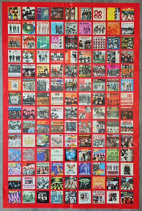 The Beatles '1' Collage Poster - 2000, Apple/Parlophone Records