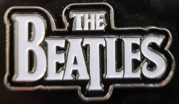 The Beatles Official Logo Enamel Badge (2006)