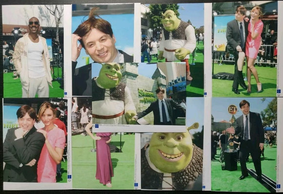 Shrek The Third (2007) LA Premiere Press Photos (x9) - Mike Myers, Cameron Diaz