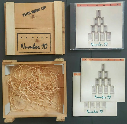 J.J. Cale 'Number 10' CD Album with Wooden Crate - 1992 - Silvertone Records