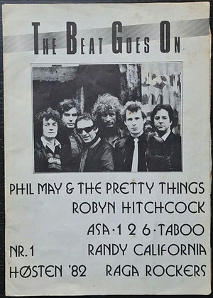 The Beat Goes On' Norwegian Magazine from 1982, Willy Bakken - Pretty Things