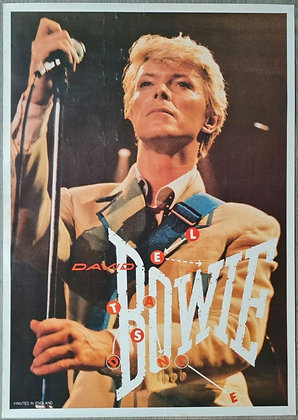 David Bowie 'Let's Dance' Poster from 1980s