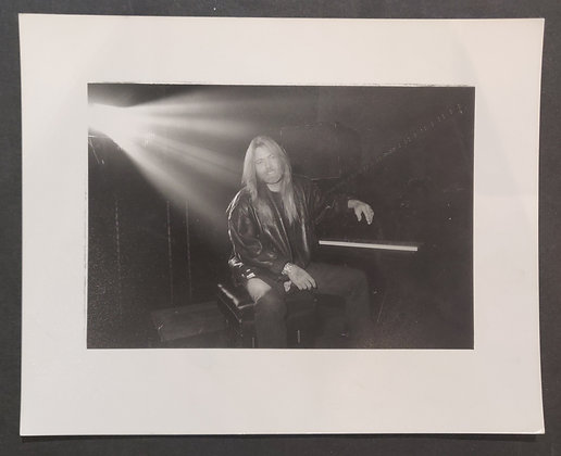 Greg Allman Press Photo