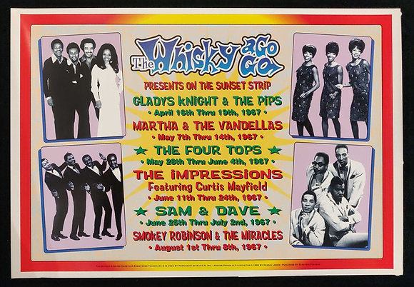 The Whisky A Go Go Presents Poster
