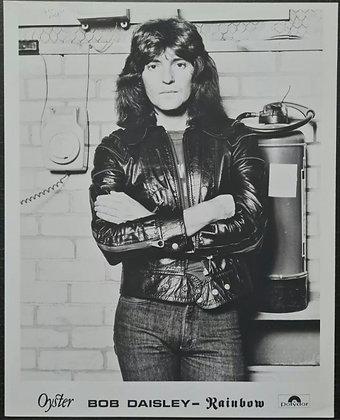 Bob Daisley (Rainbow) Promo Photo - Polydor Records - Ozzy Osbourne