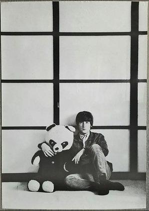 John Lennon Contemporary Poster Print - Weybridge (1965) , Robert Freeman