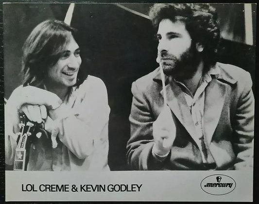 Lol Creme & Kevin Godley Promo Photo - Mercury Records - 10CC