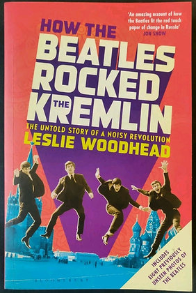 Hunter Davies Signed 'How The Beatles Rocked The Kremlin' Paperback Book