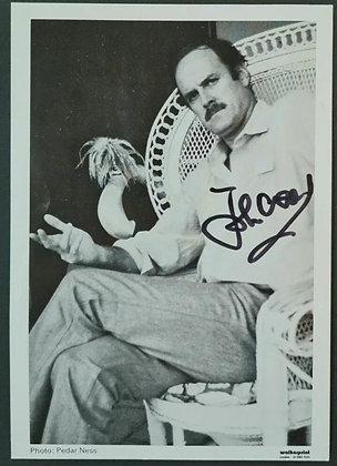 John Cleese Signed Photo - Clockwise (1986) - Walkerprint