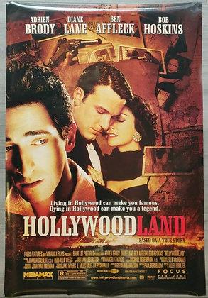 Hollywoodland (2006) Original US One Sheet Poster - Adrien, Ben & Diane