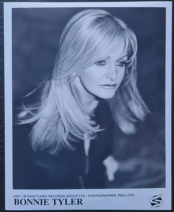 Bonnie Tyler Promo Photo - Sanctuary Records - 2001