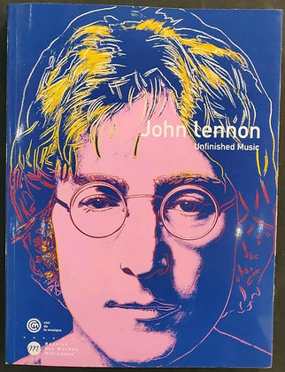 Hunter Davies Signed 'John Lennon: Unfinished Music' Book + Personal Invitations