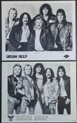 Uriah Heep Promo Photos (X2) - Legacy Records Limited/Walkerprint