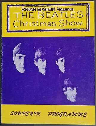 The Beatles 'Christmas Show 1963/64' Reprint Programme from 1993