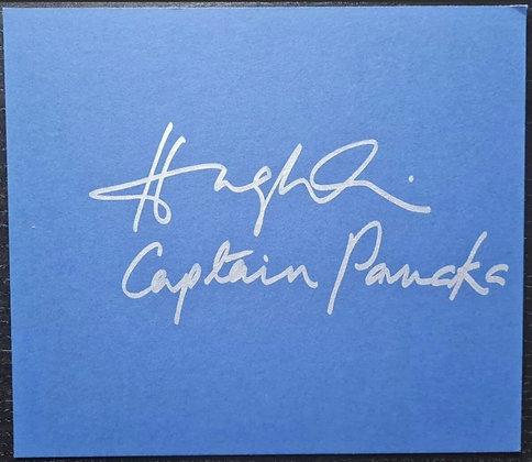Hugh Quarshie Signed Card - Captain Panaka - Star Wars