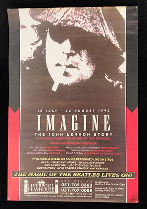 Imagine: The John Lennon Story Poster