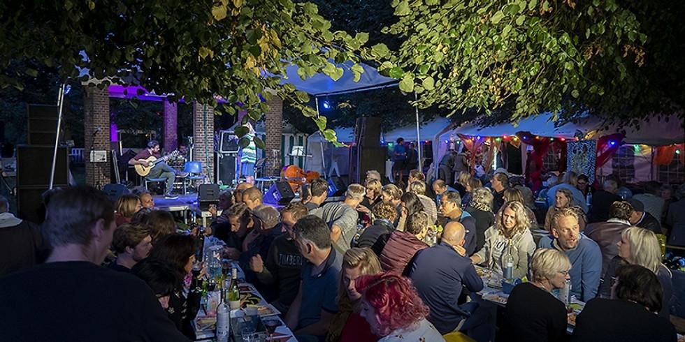 Diner met livemuziek  € 25,00