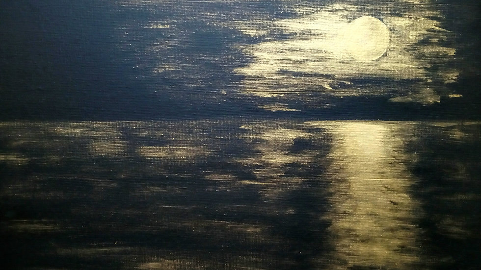Nocturne; Moon and Sea