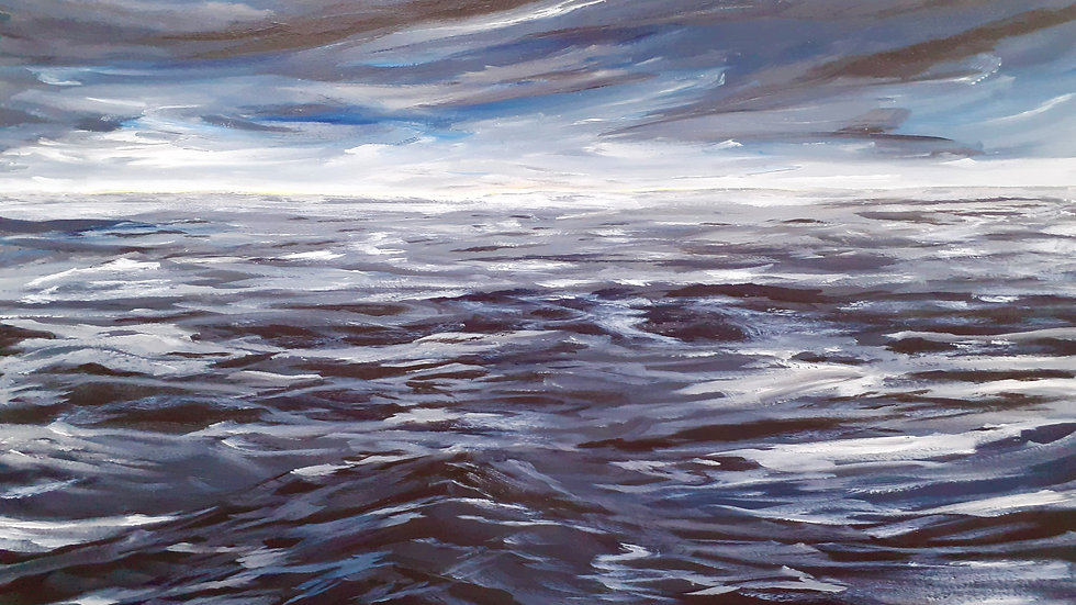Study of Sea and Sky; Norfolk