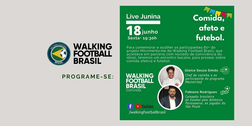Live: Comida, Afeto e Futebol com Gleice Souza Simões e Fabiano Rodrigues